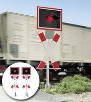 Busch Crossing Blinkers 2/ - G-Scale (2)