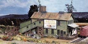 Campbell Schrocks Meat Co. HO Scale Model Railroad Building Kit #411