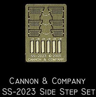 Cannon HO Side Step Set for Athearn SD45T-2 (Photo-Etch)