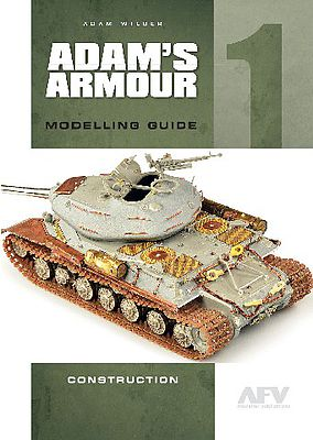 Casemate books Adam's Amour Modelling Guide 1 - Construction -- How To Model Book -- #1384