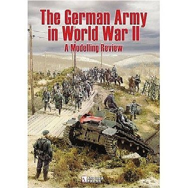 Casemate books The German Army in WWII - A Modelling Review -- How To Model Book -- #161