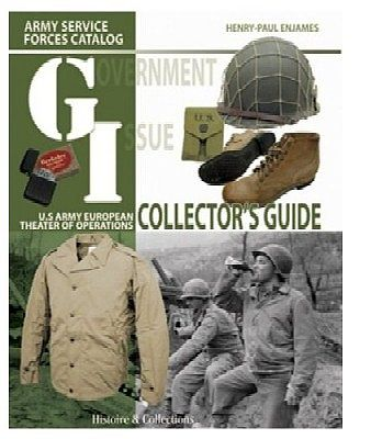 Casemate books US Army European Theatre of Operations Collector's Guide Vol.1 -- Military History Book -- #803