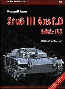Casemate books Armor Photo Gallery 10- Assault Gun StuG III Ausf D SdKfz 142 -- Military History Book -- #apg10
