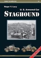 Casemate Armor Photo History 1- US Armored Car Staghound Military History Book #aph1