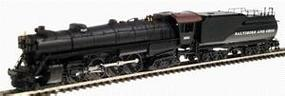 Con-Cor Steam S-2 4-8-4 Northern with Tender Baltimore & Ohio Cab #2 N Scale Model Train #1003808