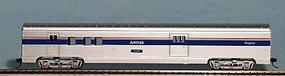 Con-Cor 72 Streamlined Car Railway Post Office HO Scale Model Train Passenger Car #10092023