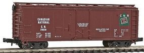 Con-Cor 40 Steel Reefer Canadian National N Scale Model Train Freight Car #105103