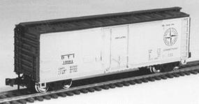 Con-Cor 40 Steel Reefer Detroit, Toledo & Ironton N Scale Model Train Freight Car #105107
