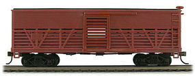 Con-Cor OT Cattle Car Kit Undecorated HO Scale Model Train Freight Car #1052030