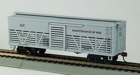 Con-Cor OT Cattle Car Maintenance Of Way HO Scale Model Train Freight Car #1052036