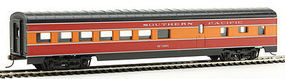 Con-Cor 72 Streamlined Diner Southern Pacific Daylight HO Scale Model Train Passenger Car #11002