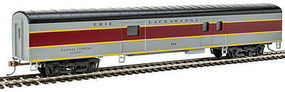 Con-Cor 72 Streamline Diner Erie Lackawanna HO Scale Model Train Passenger Car #1102010