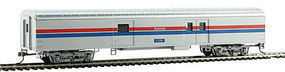 Con-Cor 72 Streamlined Baggage Amtrak (Phase II) HO Scale Model Train Passenger Car #11026