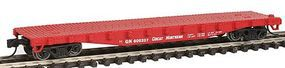 Con-Cor 50 Steel Flat Car Great Northern N Scale Model Train Freight Car #120108