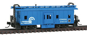 Con-Cor Bay Window Caboose Conrail N Scale Model Train Freight Car #14123