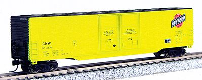 Con-Cor Greenville 60' Double-Door Boxcar Chicago & North Western -- N Scale Model Freight Car -- #14602