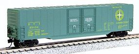 Con-Cor Greenville 60 Double-Door Boxcar Detroit, Toledo & Ironton N Scale Model Freight Car #14603