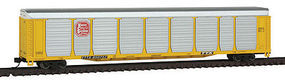Con-Cor Tri-Level Auto Rack Kansas City Southern #2 N Scale Model Train Freight Car #14748