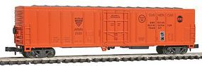 Con-Cor 57 Mechanical Reefer American Refrigerator Transit N Scale Model Train Freight Car #148209