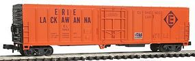Con-Cor 57 Mechanical Reefer Erie Lackawanna N Scale Model Train Freight Car #148210