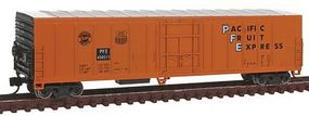 Con-Cor 57 Mechanical Reefer Pacific Fruit Express #2 N Scale Model Train Freight Car #14822