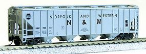 Con-Cor 52 Covered Hopper Norfolk & Western N Scale Model Train Freight Car #15032