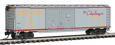 Con-Cor Box Car Union Pacific Challenger Merchandise Service -- N Scale Model Train Freight Car -- #15213