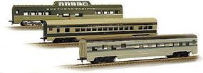 Con-Cor 72 Streamlined Vista Dome Northern Pacific HO Scale Model Train Passenger Car #194019