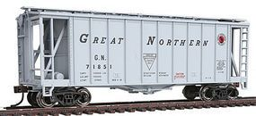 Con-Cor GATX Airslide Covered Hopper 2-Pack Great Northern HO Scale Model Train Freight Car #197007