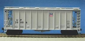 Con-Cor GATX Airslide Covered Hopper Union Pacific HO Scale Model Train Freight Car #197053