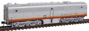 Con-Cor Diesel ALCO PB-1 Cabless B Unit Dummy Santa Fe (Warbonnet) N Scale Model Train #202042