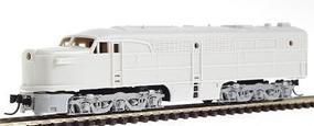 Con-Cor Diesel ALCO PA-1 A Unit Dummy with Light Undecorated N Scale Model Train #202101