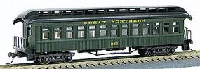 Con-Cor 1880s Wood Open-Platform Coach Great Northern HO Scale Model Train Passenger Car #230