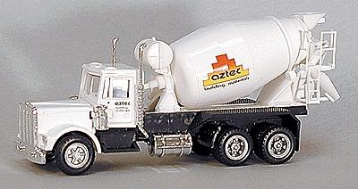 Con-Cor American Redi-Mex Concrete Truck Aztec -- HO Scale Model Railroad Vehicle -- #4002028