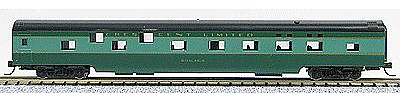 Con-Cor 85' Smooth-Side Sleeper Southern Railway -- N Scale Model Train Passenger Car -- #40081