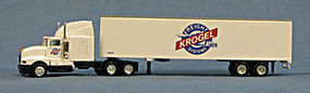 Con-Cor 18 Wheeler Krogel Freight HO Scale Model Railroad Vehicle #4009506