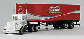 Con-Cor Tractor with Container Coca Cola HO Scale Model Railroad Vehicle #4009612