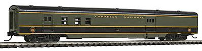 Con-Cor 85' Smooth-Side Railway Post Office Canadian National -- N Scale Model Train Passenger Car -- #40137