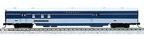 Con-Cor 85 Smooth-Side Railway Post Office Wabash N Scale Model Train Passenger Car #40159