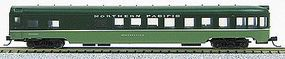 Con-Cor 85 Smooth-Side Observation Northern Pacific N Scale Model Train Passenger Car #40205