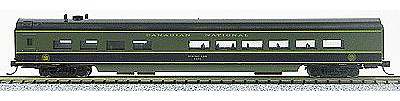 Con-Cor 85' Smooth-Side Diner Canadian National -- N Scale Model Train Passenger Car -- #40287