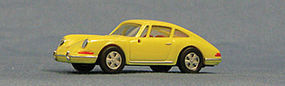 Con-Cor Porsche 911 Sportster 1966 (yellow) HO Scale Model Railroad Vehicle #4034