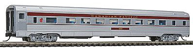 Con-Cor Budd 85' Corrugated-Side Coach Canadian Pacific -- N Scale Model Train Passenger Car -- #41260