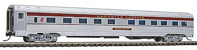 Con-Cor Budd 85' Corrugated-Side 10-6 Sleeper Canadian Pacific -- N Scale Model Passenger Car -- #41285