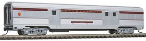 Con-Cor Budd 72 Streamlined Baggage Car Pennsylvania Railroad N Scale Model Train Freight Car #41328