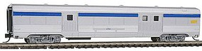 Con-Cor Budd 72 Streamlined Baggage Car Via Rail N Scale Model Train Passenger Car #41338
