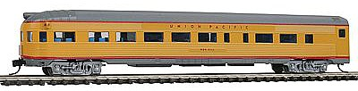 Con-Cor Budd 85' Round-End Observation Union Pacific -- N Scale Model Train Passenger Car -- #41514