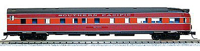 Con-Cor Budd 85' Round-End Observation Southern Pacific -- N Scale Model Train Passenger Car -- #41516