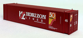 Con-Cor 45 Corrugated Container Horizon N Scale Model Train Freight Car Load #44116