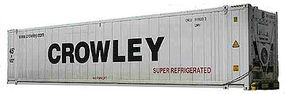 Con-Cor 40 Container P&O N Scale Model Train Freight Car #443105
